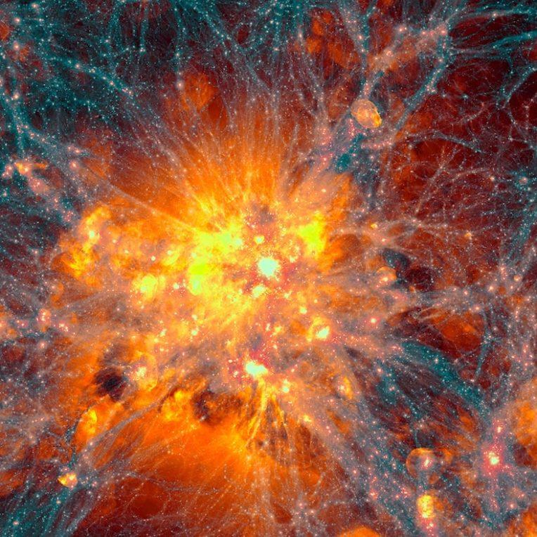 astrophysiciens simulent amas microscopiques issus big bang