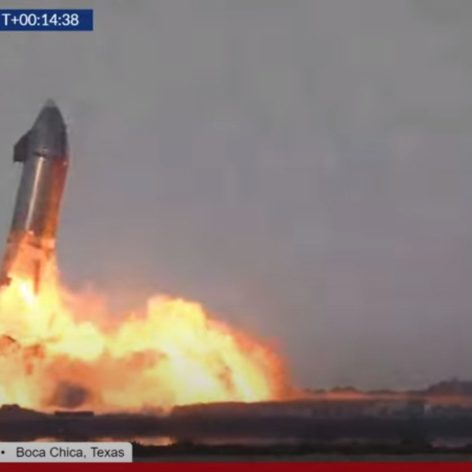 atterrissage reussi Starship