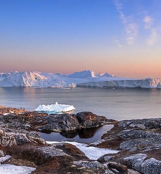 calotte glaciaire groenland fondu completement moins un million annees
