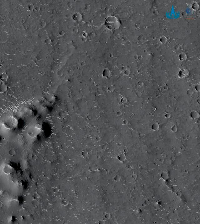 détails surface Mars