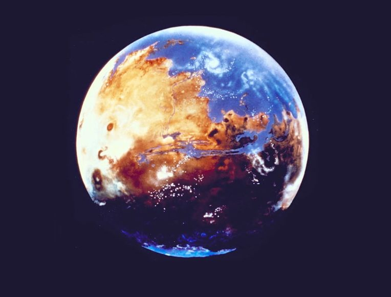eau croûte Mars