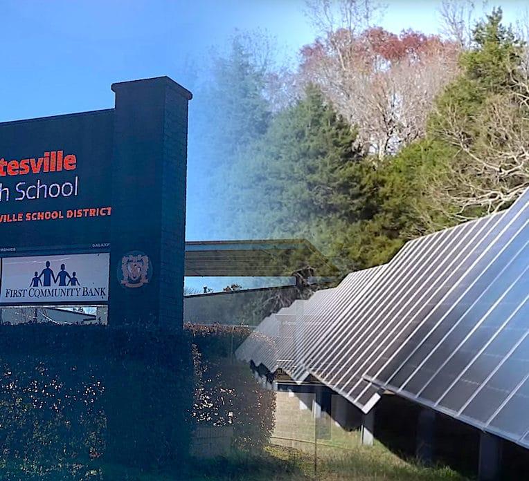 ecole americaine economise assez grace panneaux solaires offrir augmentation enseignants