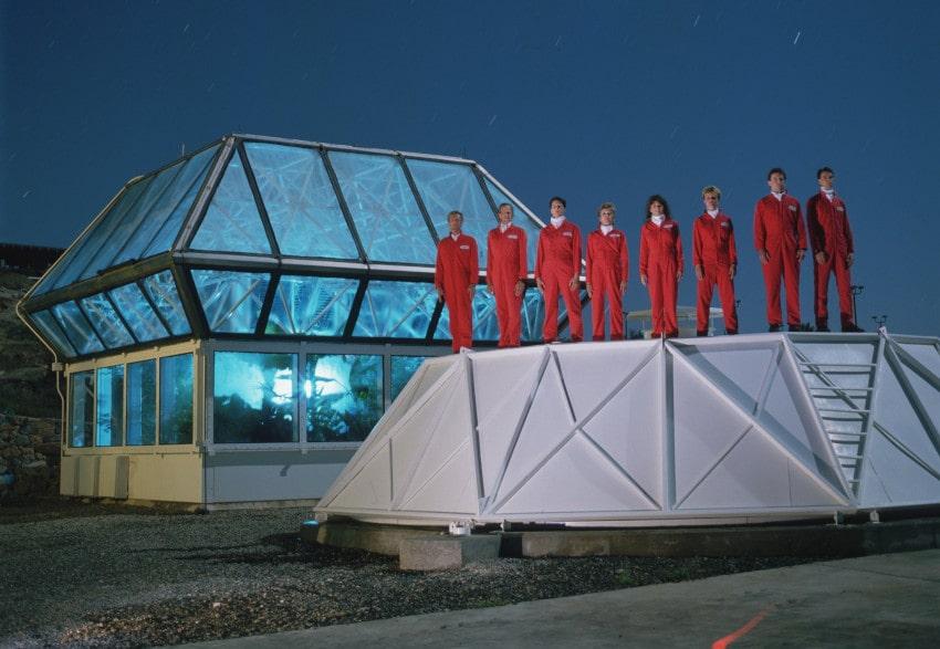 équipe biosphère 2