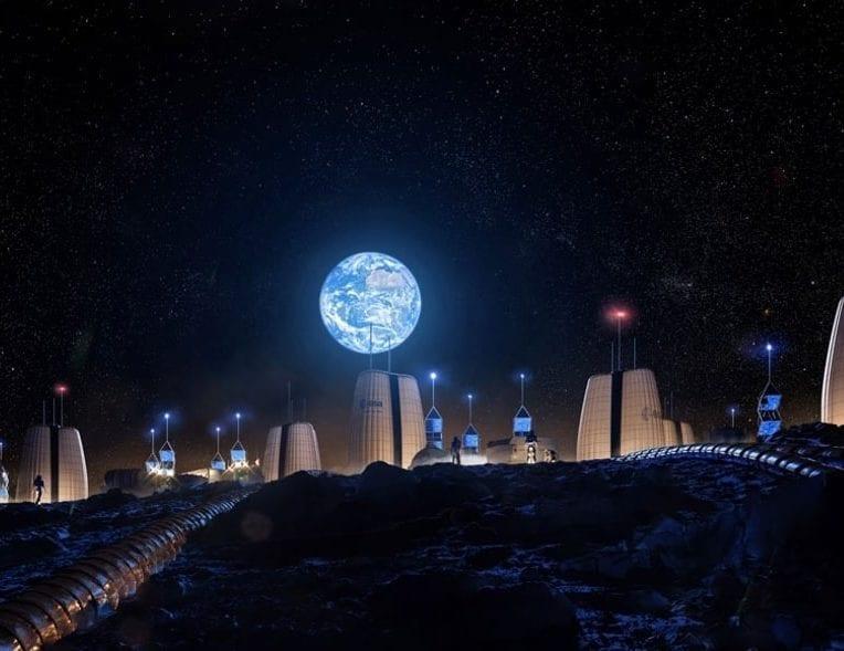 hautes tours lunaires beton alimenter bases lunaires humaines
