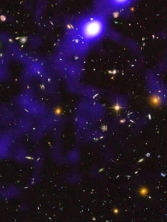 images filaments cosmiques