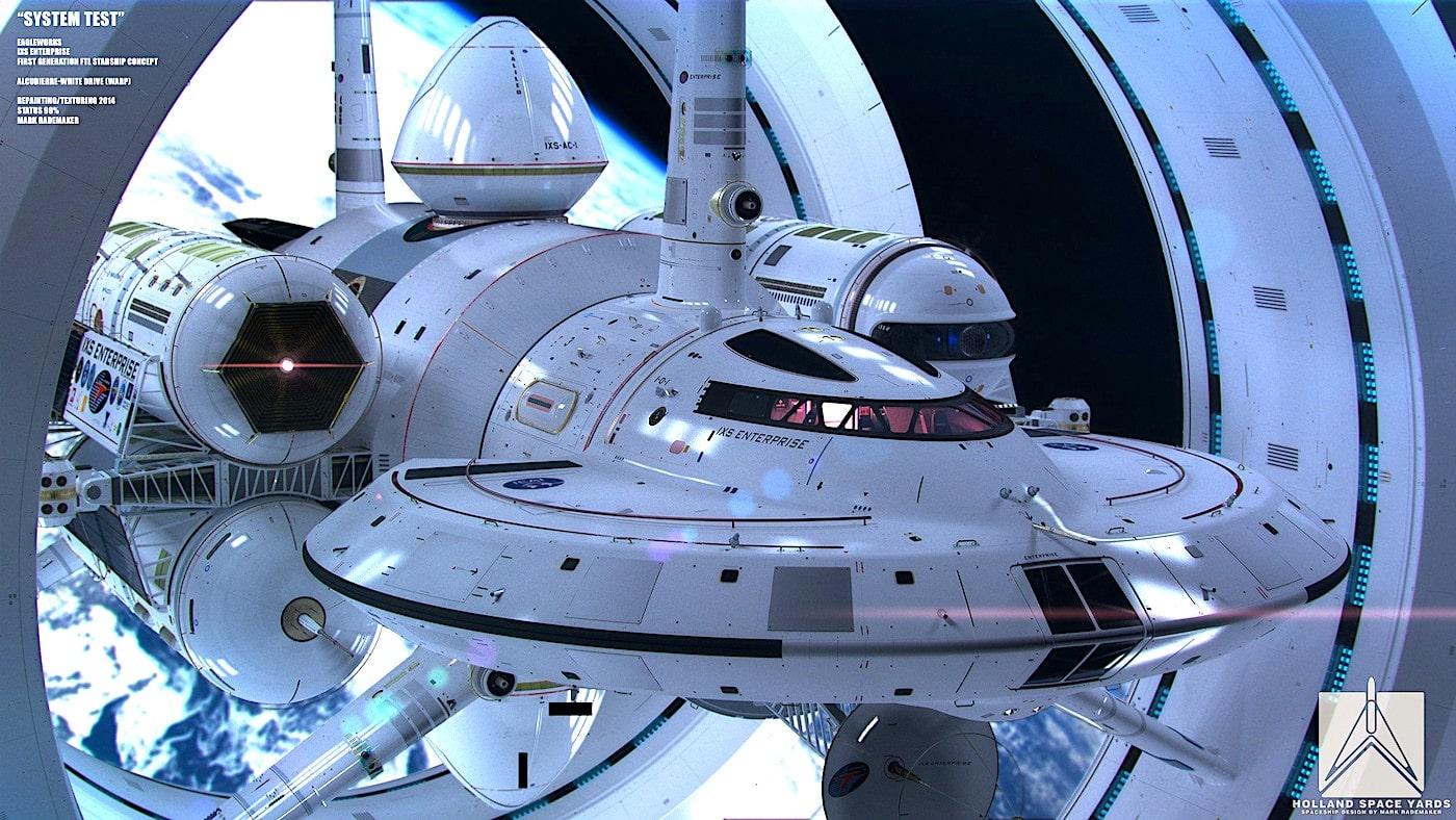 Un moteur à distorsion (Warp drive) qui ne viole pas les lois de la physique - Trust My Science