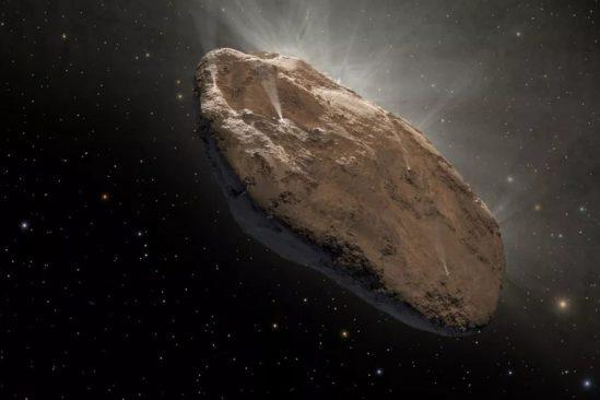 nature objet oumuamua enfin revelee