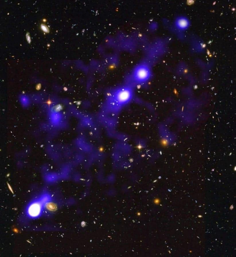 observation filaments galactiques