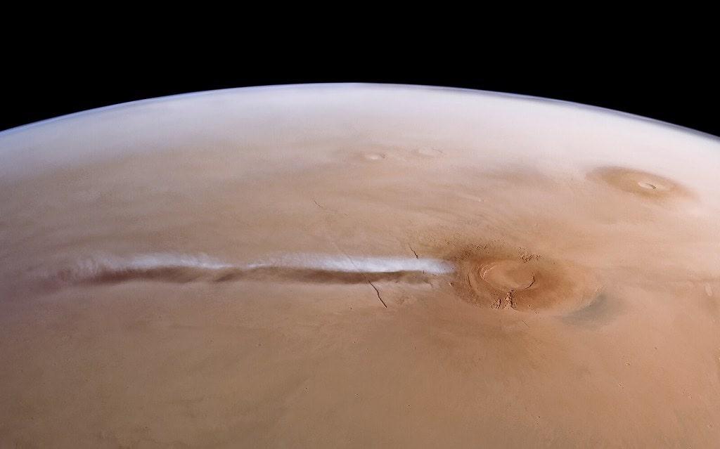 L'origine du mystérieux nuage martien récurrent enfin expliquée