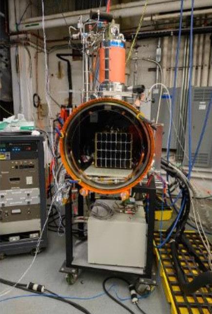 prototype panneau solaire spatial