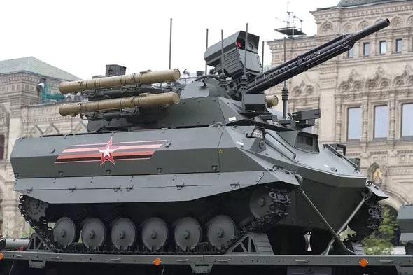 Uran-9 char assaut autonome russe