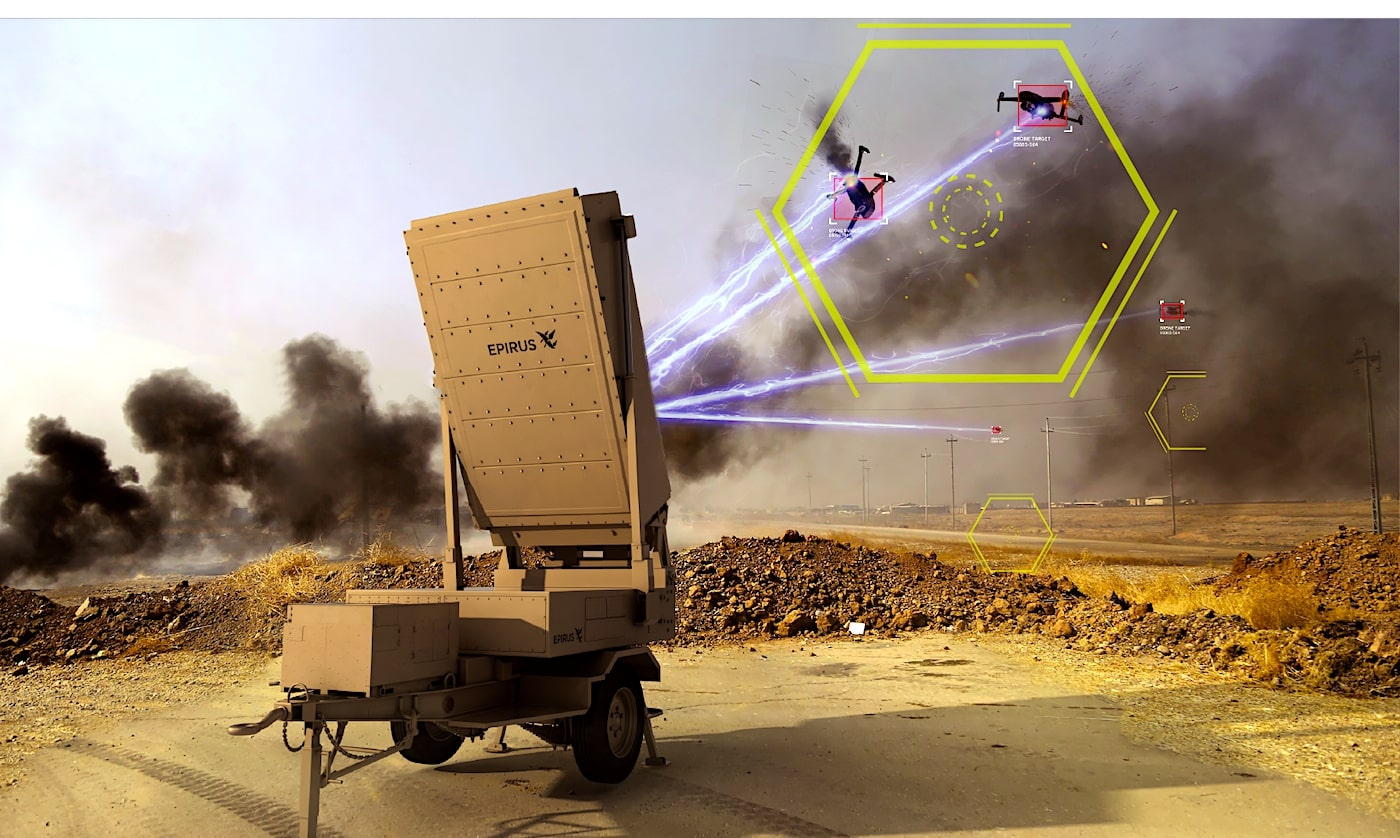 Cette arme à micro-ondes pourrait neutraliser instantanément un essaim de drones militaires