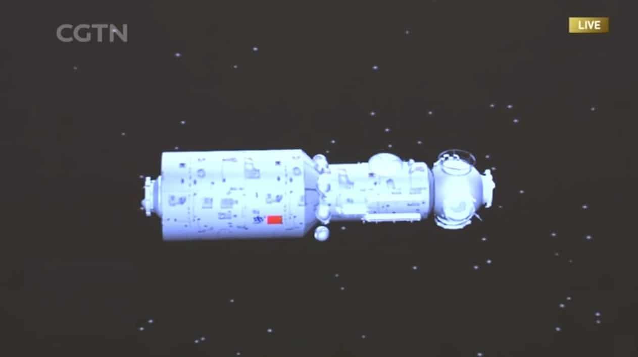 La Chine a lancé avec succès le premier module de sa station spatiale Tiangong-3