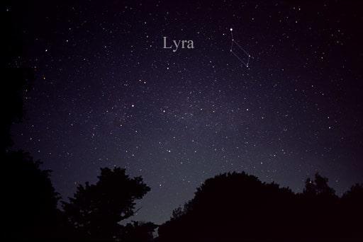 constellation Lyre