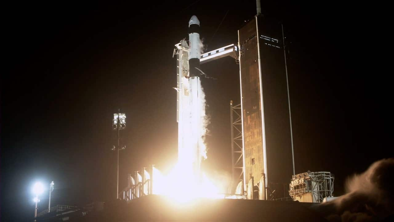 Décollage réussi vers la Station spatiale internationale pour la mission Crew-2