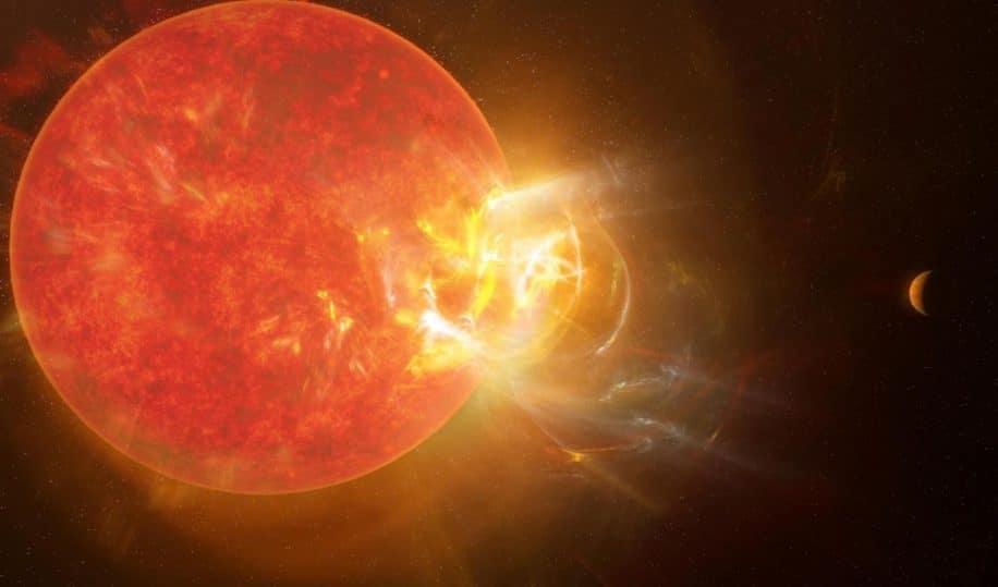 eruption stellaire proxima centauri bat records