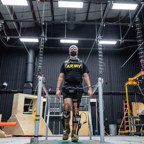bottes exosquelette armée américaine