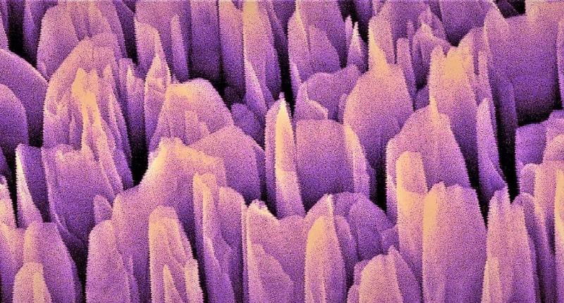 groupements nitrure gallium electrons