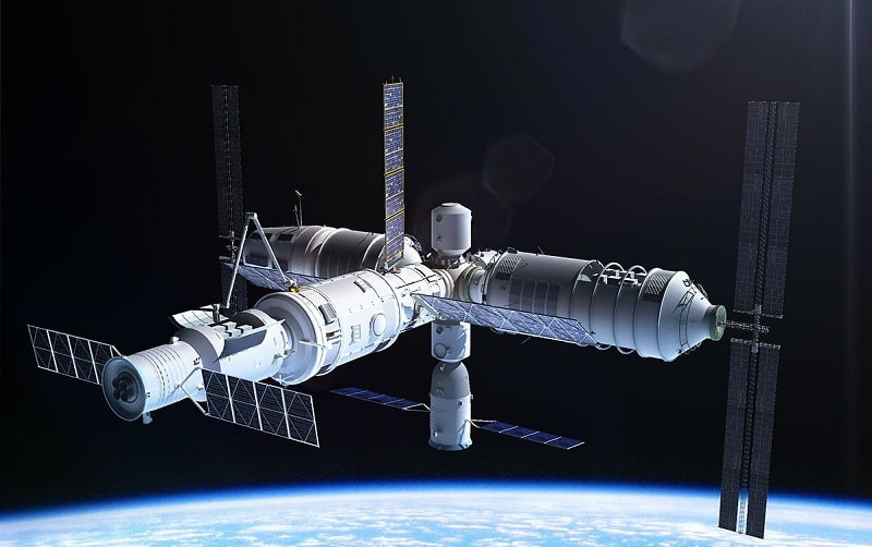 image station spatiale chine tiangong3