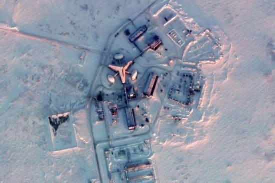 images satellite revelent presence militaire russe sans precedent arctique