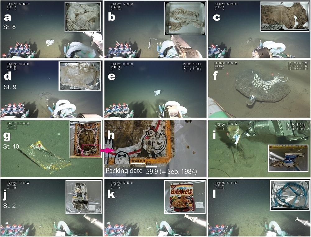 photos dechets plastiques fonds marins