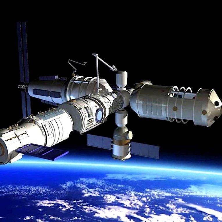 premier module station spatiale chinoise bientot en orbite