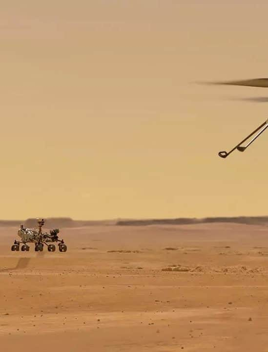 premier vol reussi pour helicoptere martien ingenuity couv
