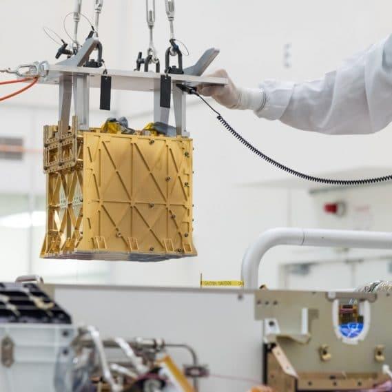 production oxygène Mars MOXIE