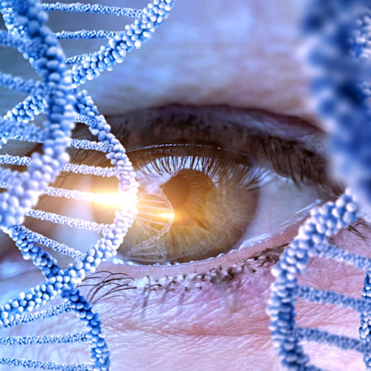 therapies geniques patient aveugle recouvre vue apres injection experimentale