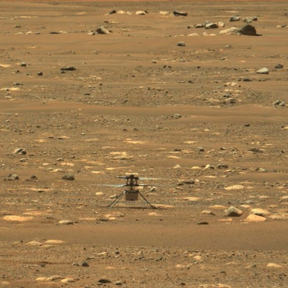vidéo HD vol Ingenuity Mars
