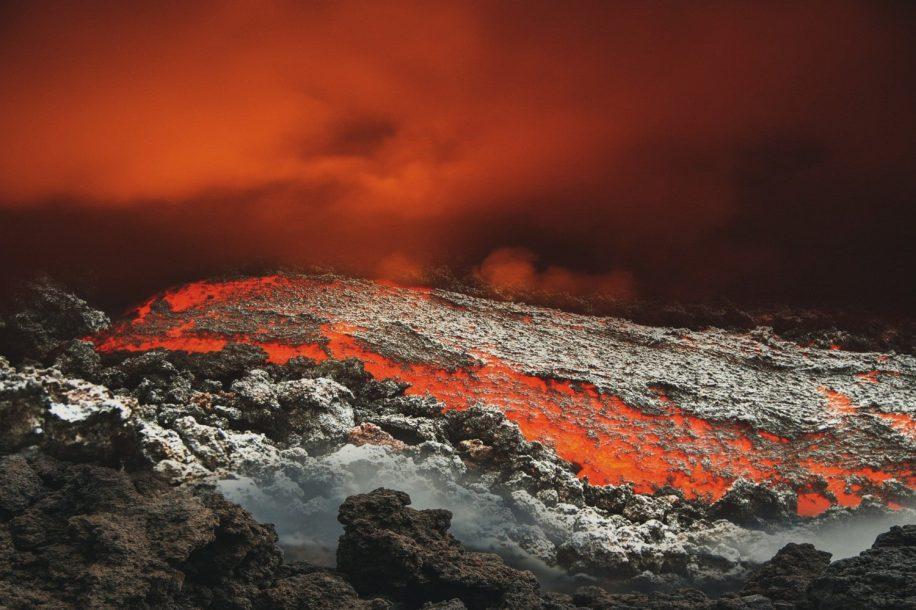 activité volcanique mars
