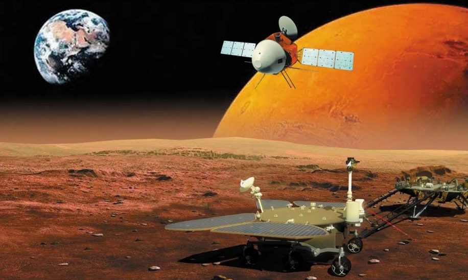 atterrissage rover chinois mars