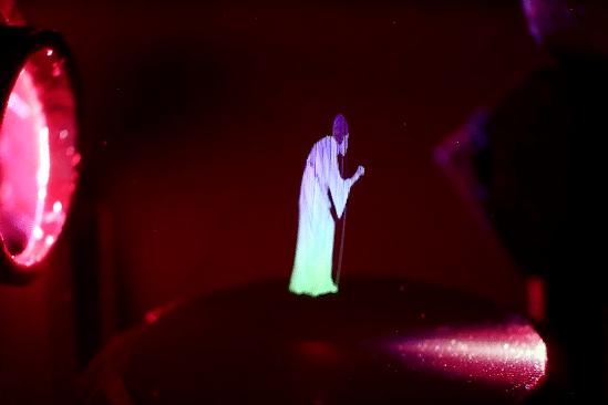 chercheurs creent hologrammes realistes se deplacant dans les airs couv