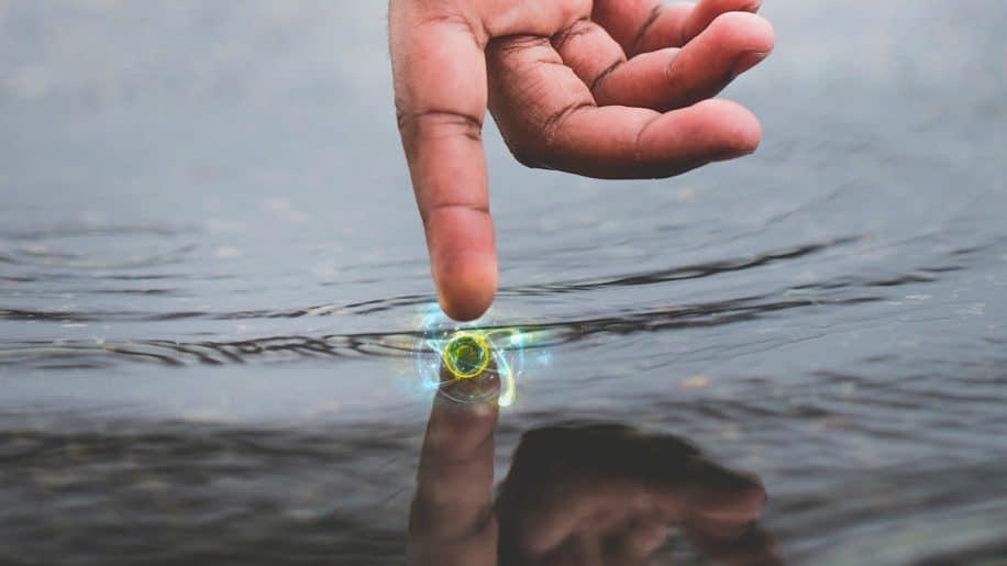 doigt peut sentir changement un seul atome materiau