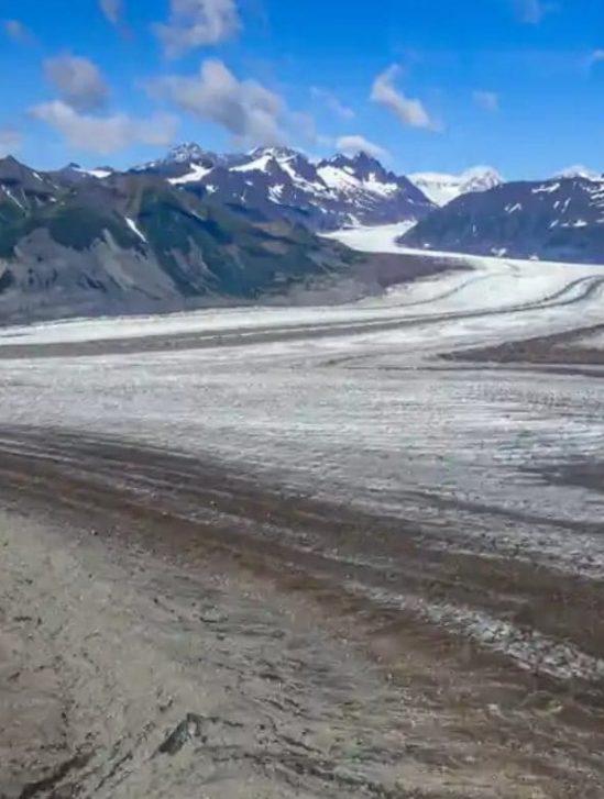 fonte glaciers disparition rivières