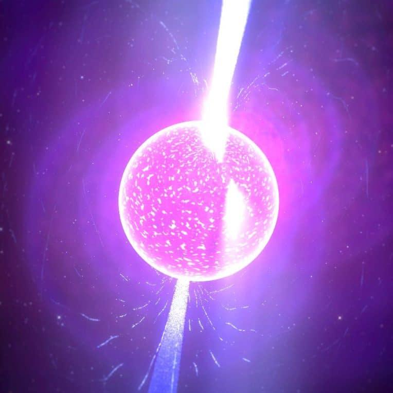 gravite intense etoiles neutrons les rend incroyablement lisses