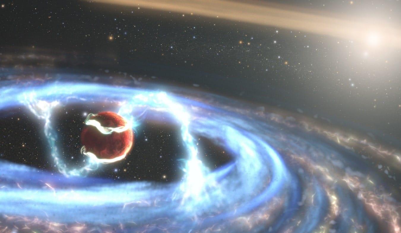 hubble observe formation planete geante