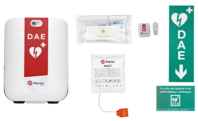 image pack defibrillateur automatique externe