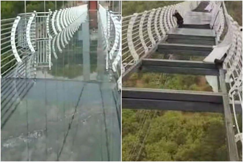 pont verre longjing chine