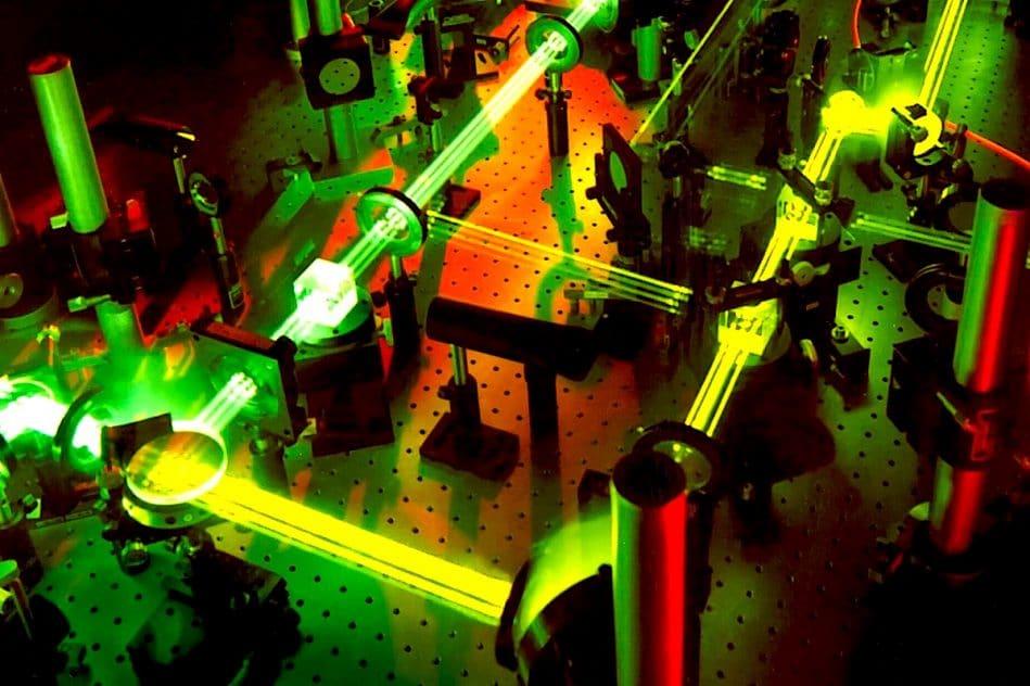 realisation laser plus puissant monde