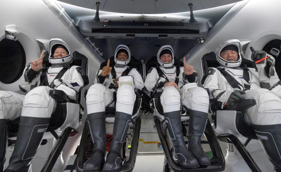 retour équipage Crew-1 SpaceX