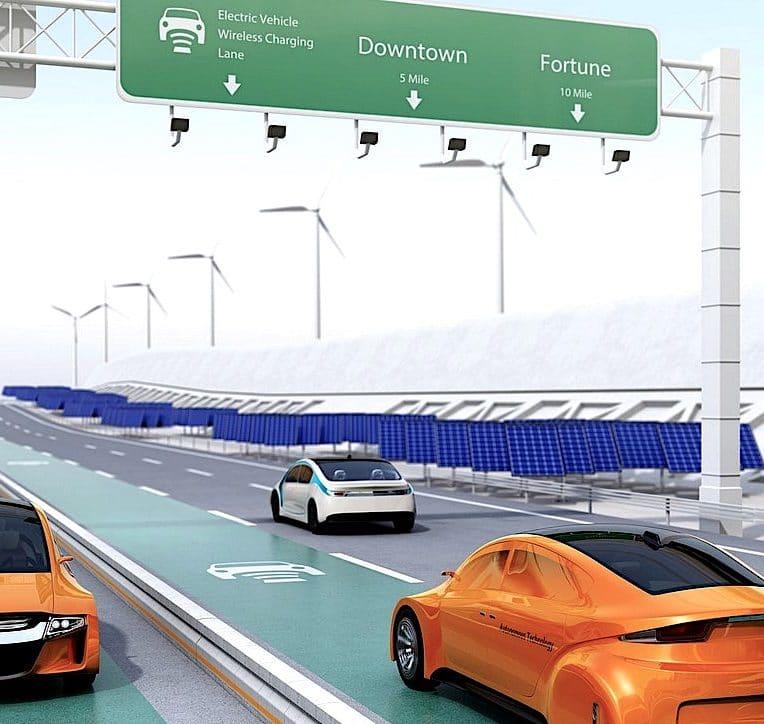 route recharge batterie véhicule électrique