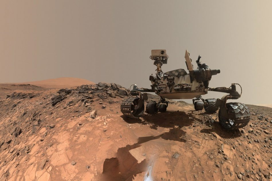sels organiques mars curiosity