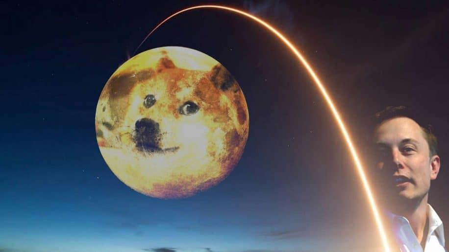 spacex prevoit lancer satellite finance dogecoin autour lune
