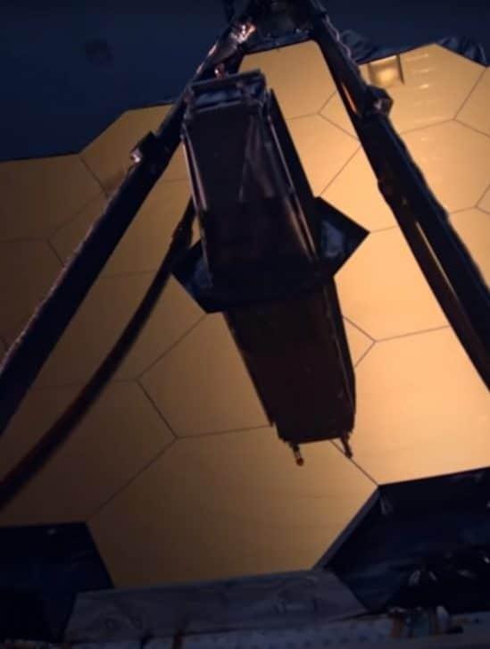 test miroir primaire telescope james webb