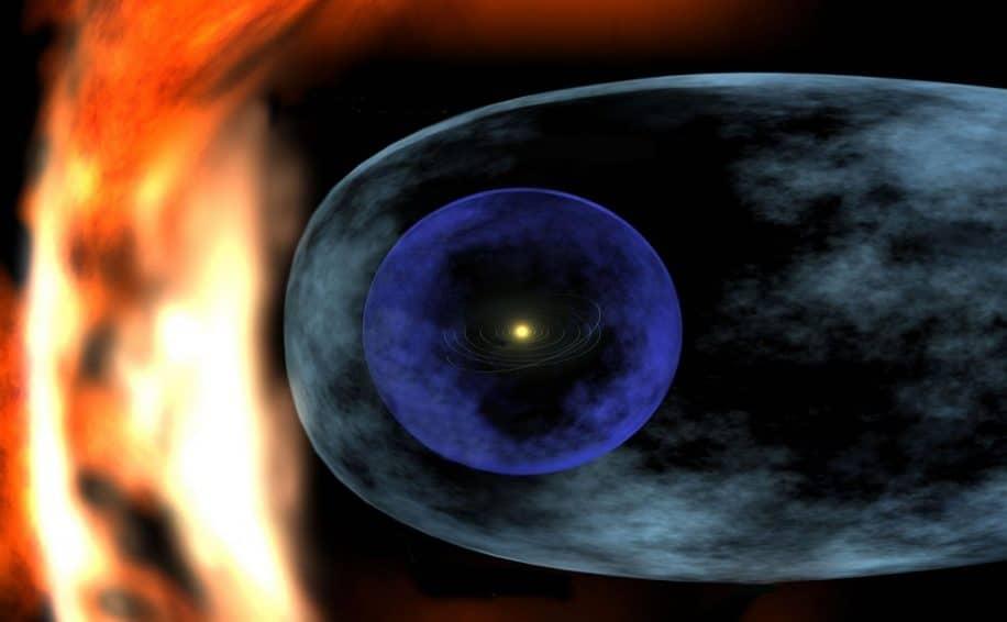 astrophysiciens ont cartographie limites heliosphere