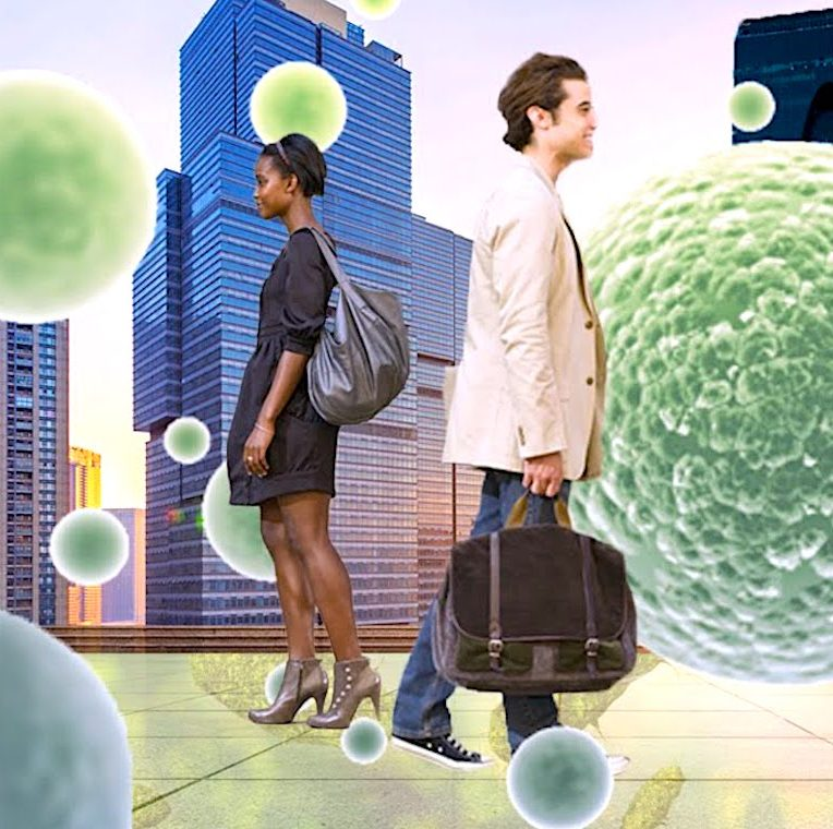 chaque ville possederait son propre microbiome