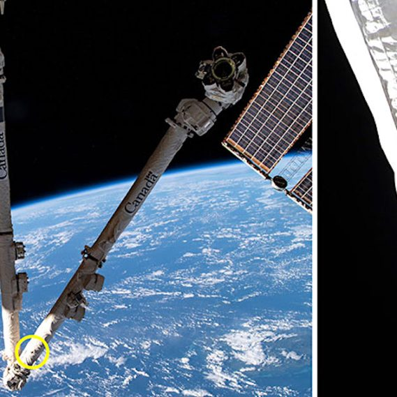 debris spatiaux percute endommage station spatiale internationale