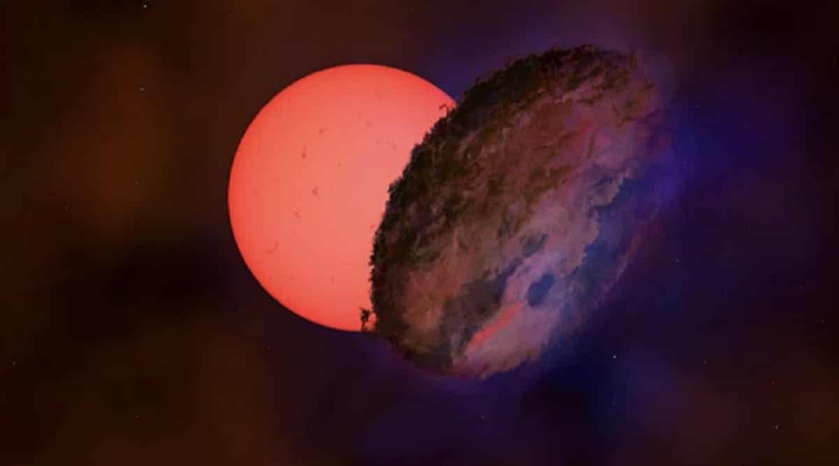 Découverte d'une étoile géante clignotante près du centre de la Voie lactée
