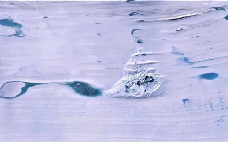 doline glace antarctique